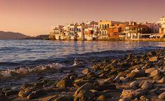 Little Venice; one of the most picturesque and charming places in #Mykonos! #LittleVenice #mykonosisland #mykonosgreece #mykonostown #cyclades #visitGreece #reasonstovisitgreece #exquisite_greece #travel_greece #picturesque #destinations Mykonos Town, Mykonos Greece, Mykonos Island, Greece Travel, Venice, New York Skyline, Flora, Destinations, Places