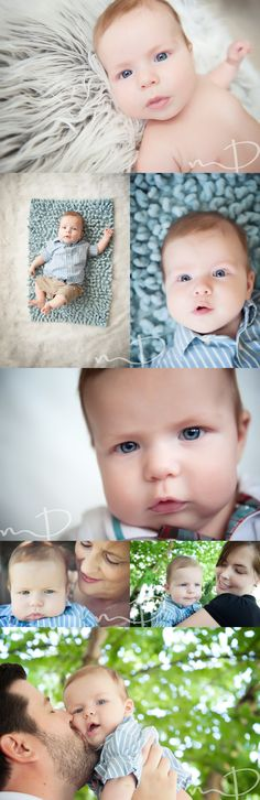 3 Month Old - Molly Dockery Photography, Asheville, NC Baby Photographer