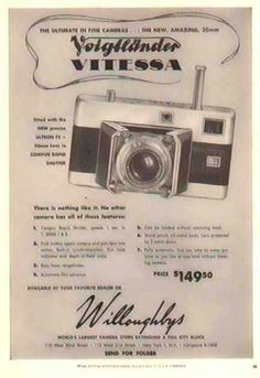 Willoughby's Camera Vintage
