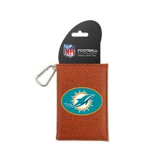 Miami Dolphins Classic NFL Football ID Holder