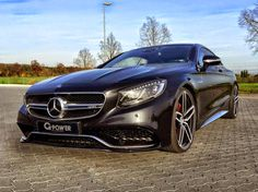 Mercedes-Benz S63 AMG Coupe By G-Power #mhbess #mbtuning #gpower