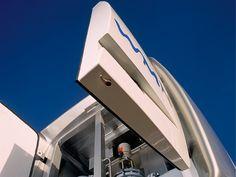 Mobile pump station designed by Alfred van Elk for WMN | Vitens at Well Design. ID best of category award, iF design award.