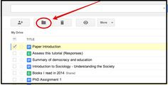 Handy Google Drive Tip for Teachers- Moving Docs to Multiple Folders ~ Educational Technology and Mobile Learning