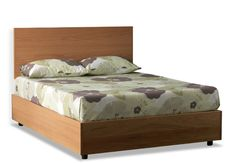 Max Sized Oak Wooden Storage Bed