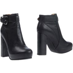Jeffrey Campbell Ankle Boots ($164) ❤ liked on Polyvore