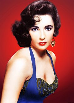 Elizabeth Taylor with those Spectacular Violet Eyes, It has been Said in Fact that There are Less than a Handful of People on the Planet with Violet Eyes -=- That is How Rare her Beauty Is !!  <3