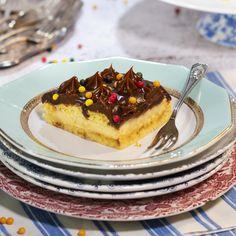 Waffles, Pancakes, Breakfast, Sweet, Food, Home, Rustic Cake, Chocolate Spread, Custard