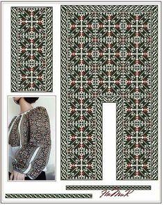 Cross Stitch Patterns, Monochrome, Needlework, Moldova, Costumes, Embroidery, Sewing, Sweaters, Shirts