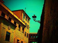 Pasadizo entre Iglesia y Monasterio de los Jesuitas en Segovia