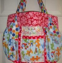 KnottyGirl Boho Bag by RedLabel   Sewing Pattern
