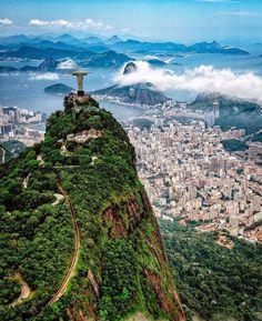 Christ the Redeemer, Rio de Janeiro, Brazil — Photography by @jakewestphoto