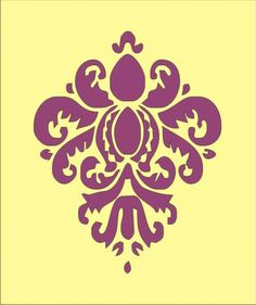 damask stencil - Bing Imagens