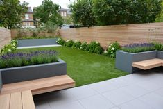 Balham, London - Tom Howard Gardens Balham, London - Tom Howard Gardens In modern cities, it is practically impossible to sit down in a house with the garde. Backyard Patio Designs, Modern Backyard, Small Backyard Landscaping, Backyard Ideas, Back Garden Design, Back Garden Ideas, Front Garden Ideas Driveway, Contemporary Garden Design, Modern Design