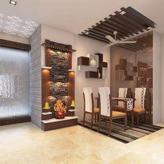Starting new project Pooja Room Door Design, Home Room Design, Interior Design Kitchen, Interior Ideas, House Design, Dinning Table Design, Mud Hut, Temple Design For Home, Small Living Room Design