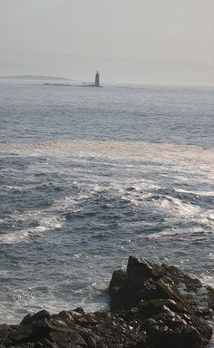 Ram Island Light across the channel from Portland Head Light