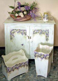 Mobili laccati, mobili decorati, mobili dipinti e laccati a mano ...
