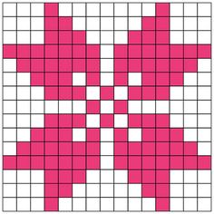 Fair Isle Knitting Patterns, Knitting Charts, Knitting Stitches, Cross Stitch Designs, Cross Stitch Patterns, Cross Stitching, Cross Stitch Embroidery, Graph Paper Art, C2c