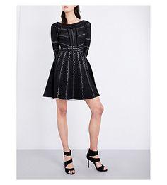 #RepliKate for Temperley Emblem Flare dress, Bardot knitted dress £105 at @selfridges
