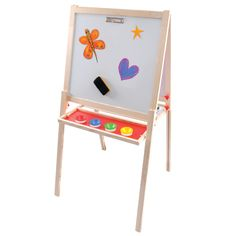 Art Shed Online - Mont Marte Kids Magnetic Chalk and White Board - Extra large, $49.95 (http://www.artshedonline.com.au/mont-marte-kids-magnetic-chalk-and-white-board-extra-large/)