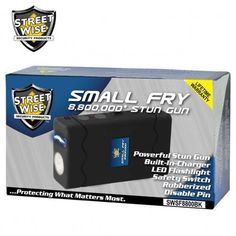 Small Fry 8,800,000* Stun Gun Flashlight Black