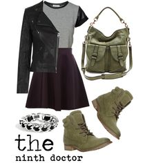 The Ninth Doctor by MoaningMyrtleMagic on Polyvore