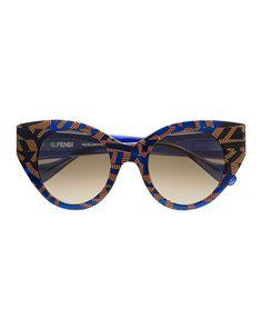Fendi  Fanny Cat-Eye Sunglasses,