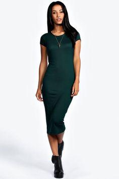 Lola Cap Sleeve Midi Dress