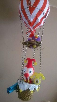 De zus van Heidy van Mierlo heeft deze prachtige Jokie-creatie gemaakt voor de babykamer van haar kleinzoon!