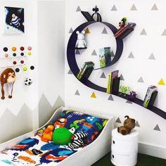 quarto super moderno para meninos