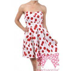 Vestido Cherry de Barbarella