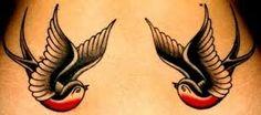 Resultado de imagen para traditional american sparrow tattoo