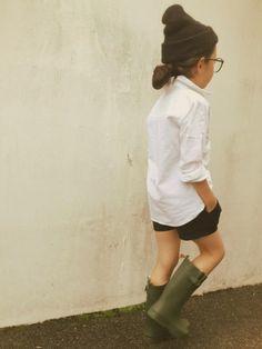 Nature school uniform.