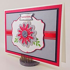 Linda Vich Creates: Flower Patch Revisited #stampinup #flowerpatch