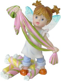 My Little Kitchen Fairies - Taffy Puller Fairie  http://www.efairies.com/store/pc/My-Little-Kitchen-Fairies-Taffy-Puller-Fairie-37p4370.htm  $26.95