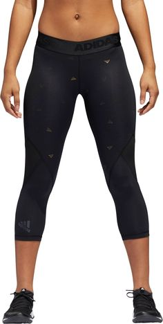 adidas Women s Alphaskin Sport Capri Tights 38f24e8cfa0