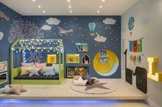 Veja como usar os fios de luz ou cordões de luz no quarto de bebês e crianças. Dicas de decoração e de segurança!