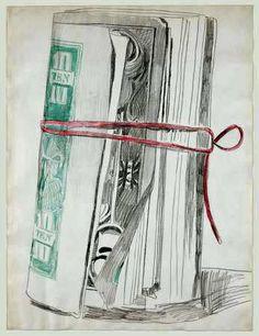 Warhol, Andy (1928-1987) - 1962 Roll of Bills (Museum of Modern Art, NYC)