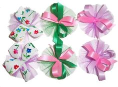 AC0905 - Easter/Spring Hair Bow Collection