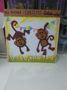 Verjaardags aapjes