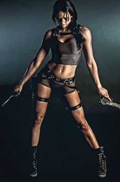 Character: Lara Croft / From: Eidos Interactive & Square Enix's 'Tomb Raider' Series / Cosplayer: Unknown
