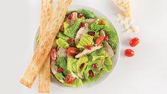 Garden Caesar & Chicken Salad