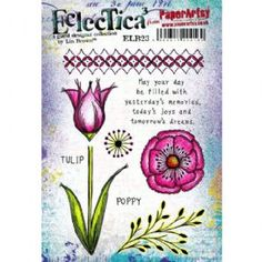 Paperartsy Stamps: Eclectica³ - Lin Brown Series 23