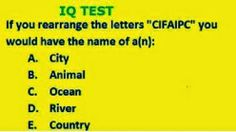 Smart Question for Smart People Test Your Brain #3