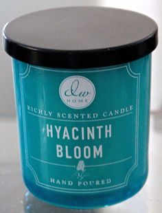 DW HOME INC HYACINTH BLOOM 1 WICK 4 OZ MINI NEW CANDLE BALL RICHLY SCENTED #DwHome