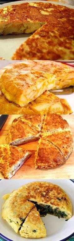 Omelete Recheado #omelete #acompanhamento #receita #culinária #pilotandofogão Halloween Food For Party, Canapes, Omelette, Recipe Of The Day, Breakfast Recipes, Brunch, Food And Drink, Low Carb, Meals