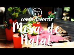 Dicas para montar a decoração de mesas de Natal - confira as dicas de Flávia Ferrari no DECORACASAS