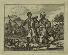 Early Dutch depictions of New Netherland(New York) Indians 1671