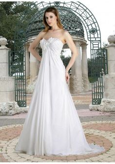 Chiffon Wedding Dress love this dress