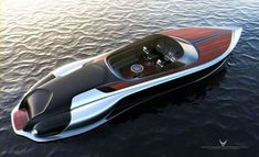 Ideas Speed Boats Design Luxury Yachts For 2019 Cool Boats, Small Boats, Yacht Design, Boat Design, Wooden Speed Boats, Small Yachts, Classic Wooden Boats, Sport Boats, Vintage Boats