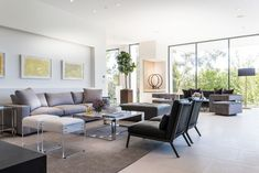 Sumptuous contemporary living in the Pacific Palisades